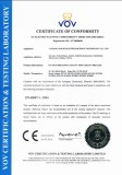 CE Certificate for DC Circuit Breakers