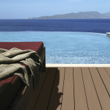 Beautiful seaside outdoor wpc decking projects