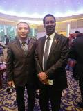 attending Guinea-China Economic cooperation Forum