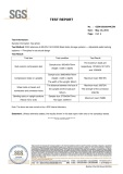 SGS Test Report for pallet rack