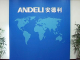 Feature wall of Andeli′s sample room