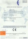 Electric bike certificate