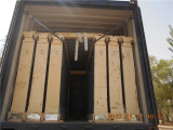 "20 GP"" Container Plywood Packing Loading."