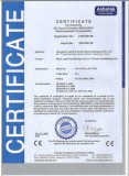 CE CERTIFICATE OF JADE MASSAGE BED
