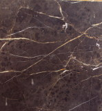 black with white vein marble
