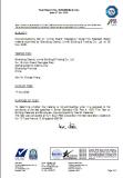 British standard TUV test report