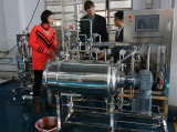 Belgium customer acceptance 100 liters solid fermenters