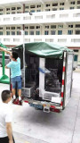 Equipment machine packing shipments