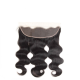 8A Brazlian lace frontal closure 100% virgin remy human hair body wave