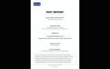 INTERTEK TEST REPORT