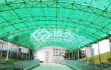 Guangzhou footbridge channel green pc hollow sheet