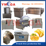Fried and Frozen French Fries Production Line