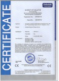 CE CERTIFICATE OF PORTABLE PHYSICAL THERAPY DEVICE