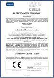 CE Certificate for 9024 Type Door Closer