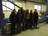 Shenxi Honeycomb Installed one production line in Spain