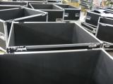 Flightcase on production line