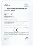 CE certificate for B series