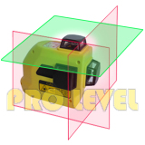 360-Degree 3-Plane Leveling and Alignment Laser Level (MW-99TG2R)