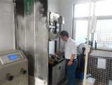 Operate Testing Machine