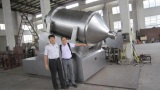 4000L Rocking mixer,600L 3D mixer,vibration sifter export to Japan