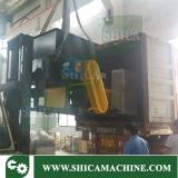 Single shaft shredder loading pic
