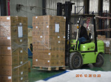 1*20′ Container of Diaphragm Valves Exported to Russia