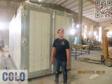 Powder Coating Line Installation in Cuba on Nov