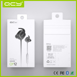 White gift box packaging for QY12 sport earphone