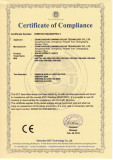 CE Certificate of Solar Street Ligh