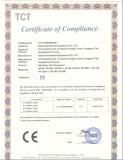 CE certificate of Salt Spray Test Chamber