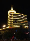 ONBEST LED LIGHTING:HUNAN BAUHINIA GRAND HOTEL ILLUMINATION