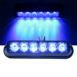 Generation 2 High Power LED Police Strobe Lights (TBF-6691L3-C-BLUE)