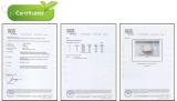 certificate ceramic FDA safe