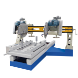 HKB-41500 Stone Edge cutting machine for column pieces