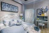 Bedroom Set In Showroom