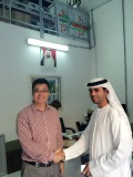 UAE CUSTOMER FOR LASER CUTTING MACHINE