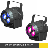 New 3pcs Osram led par stage light with zoom