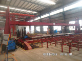 Producing view of the tanker semi trailer workshop10