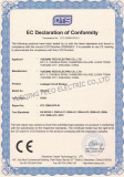 CE certificate for ELCB