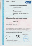 CE certificate for Push button switch