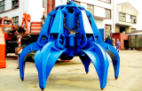 Electric Hydraulic Multivalve Grab Bucket