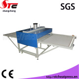 large format pneumatic heat transfer machine