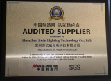 Ewin is SGS audited supplier in 2013 to 2014
