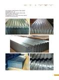 GB,JIS Galvanized Corrugated Steel Sheet