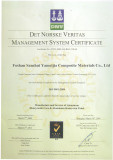 ISO9001 Management System Certification
