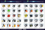 Catalog of LED headlamp and LED search light