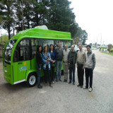 Electric City Bus in Uruguay