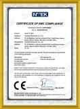 Zoomtak CE certificate