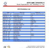 2012 Exhibition List