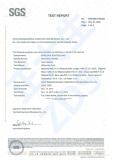 SGS Certificate English